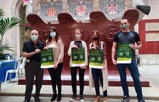 Imatge de la presentació de l'acció de recompte de persones sense llar a Tarragona.