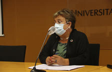 La rectora de la URV, María José Figueras.
