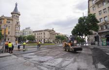 Els treballs a la Font del Centenari es van dur a terme ahir i han tingut un cost de 39.361 euros.