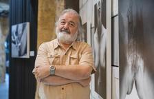 Lluís Carro, aquest dilluns, a la Personal Galeria de Tarragona.