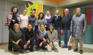 Presenentació de les parelles lingüístiques de l'Hospitalet el març passat.