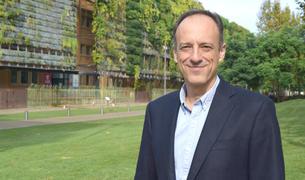 Javier Almandoz, Vicepresident de l'Associació d'Empreses de Serveis de Tarragona.