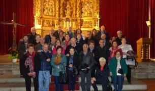 Foto de grup del viatge a la Cerdanya.