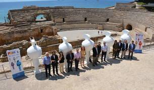 Les estàtues gegants del Tarracvs seran pintades per diferents artistes.