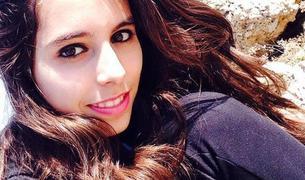 La joven Miriam Serra.