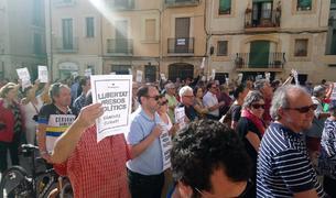 Concentracions a Ajuntaments i institucions de Tarragona en suport a Sànchez i Cuixart