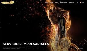 Captura de la pàgina web de l'empresa Bornan Sports.