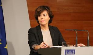 Imatge d'arxiu de la vicepresidenta del govern espanyol, Soraya Sáenz de Santamaría.