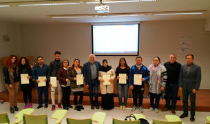 Imatge dels participants en el curs.