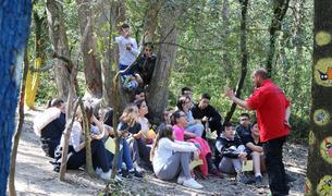 Els estudiants de 1r d'ESO van realitzar una sortida a la Granja Escola de Santa Maria de Palautordera.