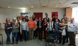 El Casal Municipal de la Gent Gran celebra la Diada de Sant Jordi.