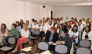 L'ICS Camp de Tarragona fa el comiat dels residents que acaben l'especialitat.