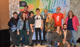 L'alcalde de Tarragona rep als participants de la 25a Mostra de Teatre Jove.