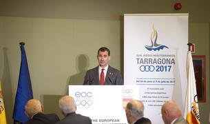 El Rei Felipe VI va presidir la presentació de la mascota dels Jocs Mediterranis el 19 de maig del 2016.