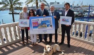 El cupó dedicat als Jocs Mediterranis s'ha presentat aquest dijous.