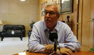 L'alcalde de Tarragona, Josep Fèlix Ballesteros, en una entrevista amb l'ACN.
