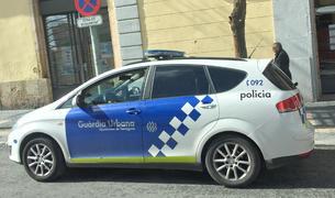 Vehículo de la Guardia Urbana de Tarragona