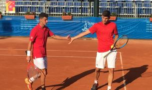 La parella espanyola Semmler i López va passar de ronda.