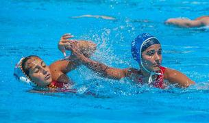 El waterpolo se ha disputado en la piscina olímpica