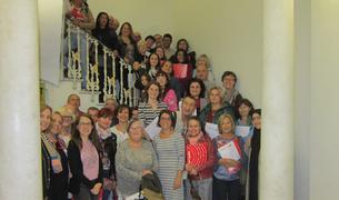 Imatge dels participants en aquesta  trenta-sisena edició del Voluntariat per la llengua a Reus.