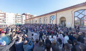 La Cantada ha tingut lloc a la plaça de les Escoles Velles.