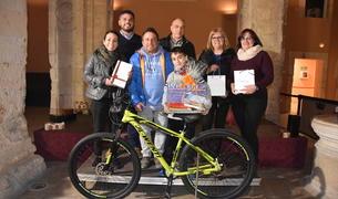 Imatge dels guanyadors de la gimcana.