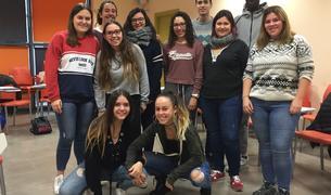 Imatge del participants del curs de monitors de lleure.