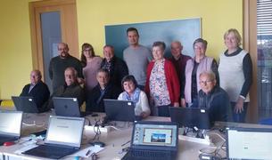 Imagen de los participantes al curso.