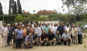 Fotografía de grupo de los asistentes al desayuno de Tarragona Antiga por Sant Magí.