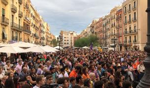 Clam multitudinari en contra de la violència a Tarragona