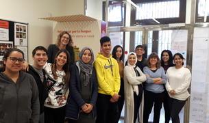 Imagen de algunos de los alumnos que han participado en la jornada.