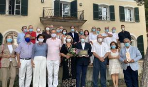 El rotry club de Tarrargona recibió la visita del gobernador de distrito de la organización.