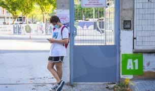 Primer dia de curs a l'Institut Martí Franqués de Tarragona