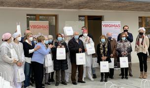 L'empresa ha entregat 170 lots de torrons a la Fundació.
