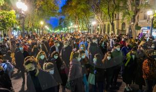 Concentració i manifestació de protesta per l'empresonament de Pablo Hasél a Tarragona