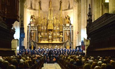 L'Orquestra Simfònica del Vallès actua a la Catedral de Tarragona