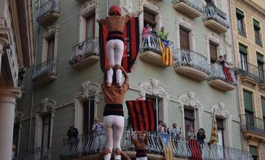 Rua de celebració per l'ascens del CF Reus Deportiu