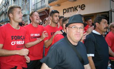 Rua de celebració de l'ascens del CF Reus 04