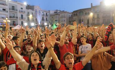 Rua de celebració de l'ascens del CF Reus. 04