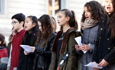 Tradicional cantada de Nadales a Tarragona