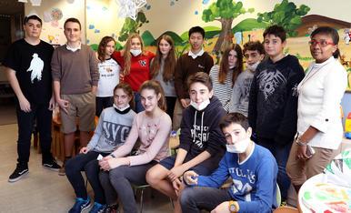 El Col·legi Les Teresianes enceta les visites nadalenques al Joan XXIII