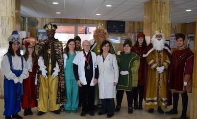 Els Reis d'Orient visiten l'Hospital Joan XXIII