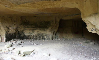 La pedrera romana de les Coves del Llorito