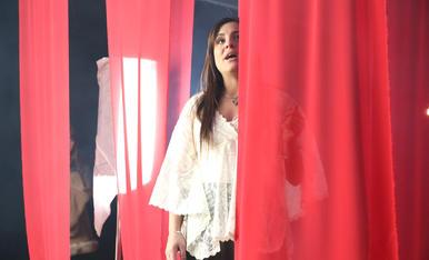 Rodatge del videoclip de D'Callaos amb la Mari de Chambao