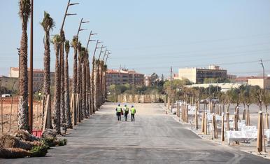 Visita d'obres a l'Anella Mediterrània