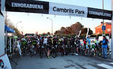 La sortida dels ciclistes