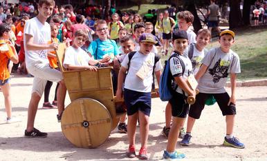 Més de 2.500 alumnes del Tarragonès juguen com els nens romans