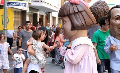 El seguici de les Festes del barri del Carme