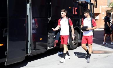 El planter del primer equip grana marxa a Olot per preparar la temporada.