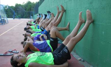 Finalitza el primer campus d'estiu extern del TGN Bàsquet